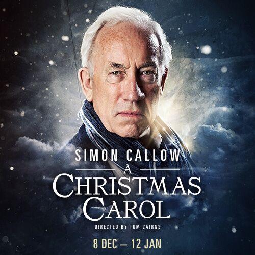A Christmas Carol with Simon Callow Show Cover