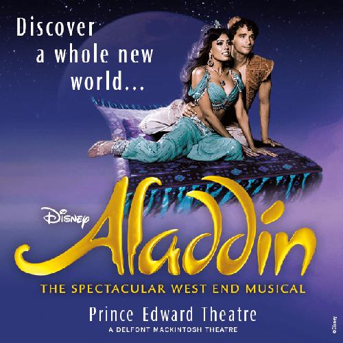 Aladdin Show Cover