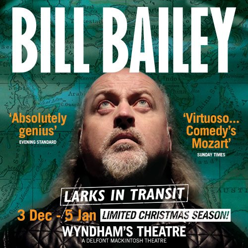 Bill Bailey Larks In Transit Show Cover