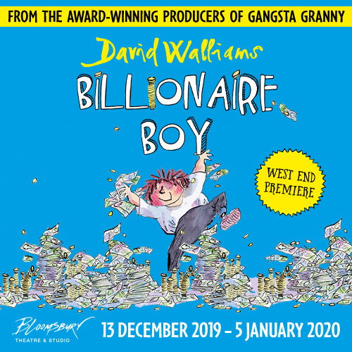 Billionaire Boy Show Cover