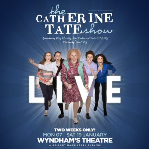 Catherine Tate Show Live Show Cover