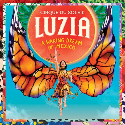 Cirque Du Soleils Luzia Show Cover