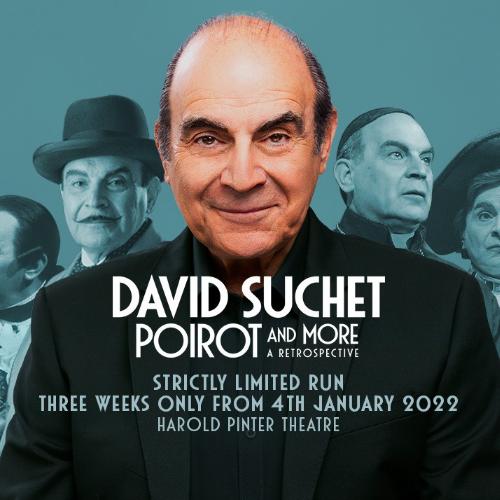 David Suchet Poirot and More A Retrospective Show Cover
