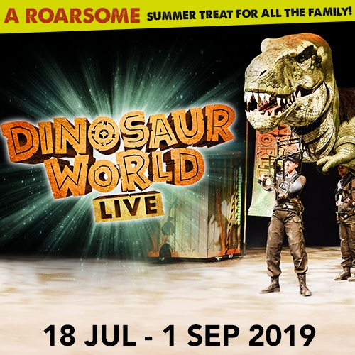 Dinosaur World Live Show Cover