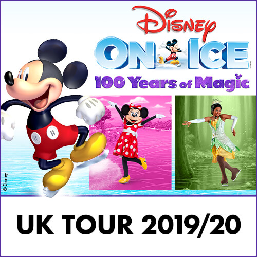 Disney On Ice 100 Years of Magic Show Cover
