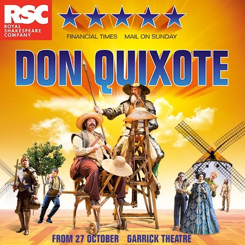 Don Quixote Show Cover