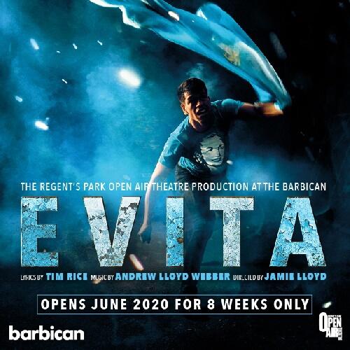 Evita Show Cover