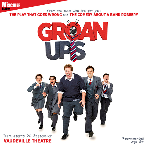 Groan Ups Show Cover