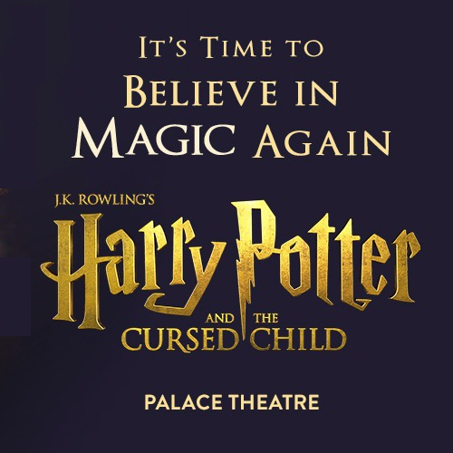 Harry Potter And The Cursed Child Parts One & Two Show Cover