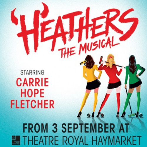 Heathers Show Cover