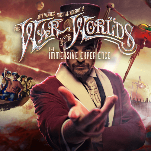 Jeff Waynes The War Of The Worlds The Immersive Experience Show Cover
