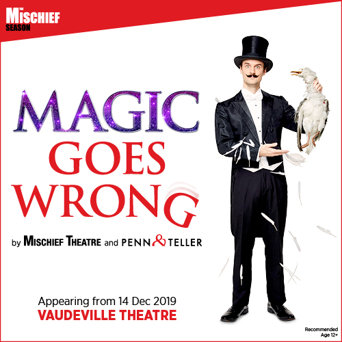 Magic Goes Wrong Show Cover