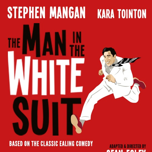 Man in the White Suit Show Cover