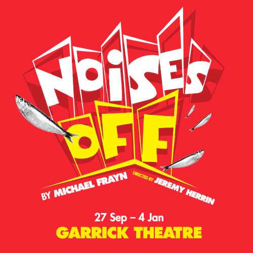 Noises Off Show Cover