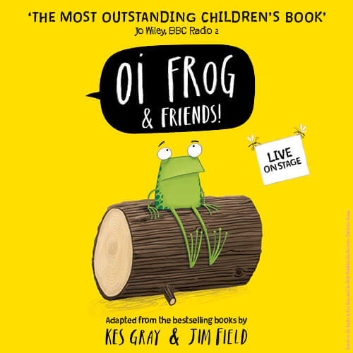 Oi Frog and Friends! Show Cover