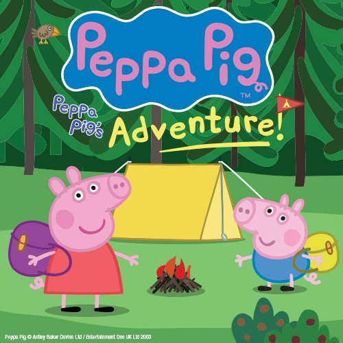 Peppa Pigs Adventure Show Cover