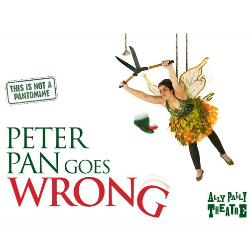 Peter Pan Goes Wrong Show Cover
