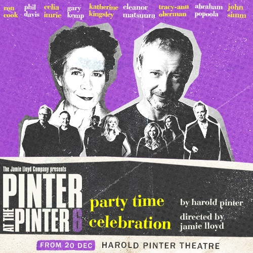 Pinter 6 Party Time/Celebration Show Cover