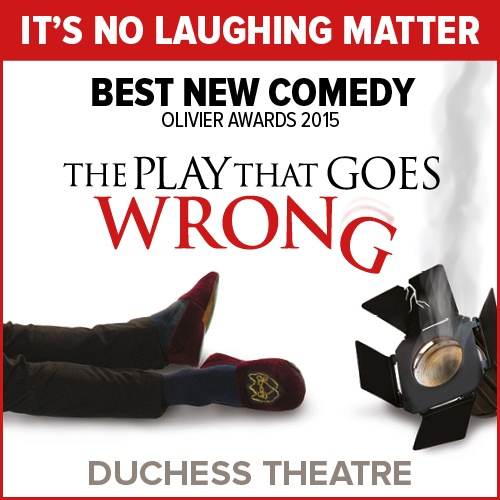 Play that Goes Wrong Show Cover