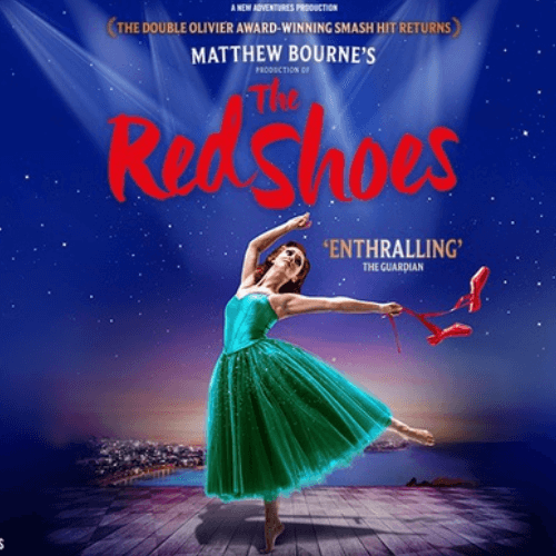 Red Shoes Show Cover