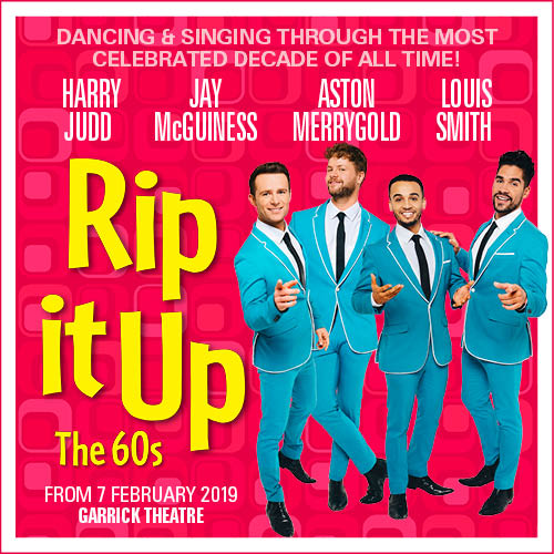 Rip It Up Show Cover