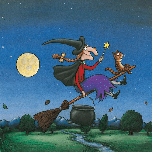 Room On The Broom Show Cover