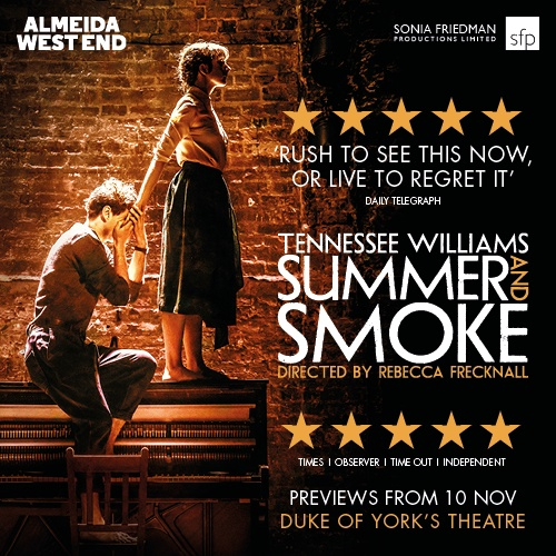 Summer and Smoke Show Cover