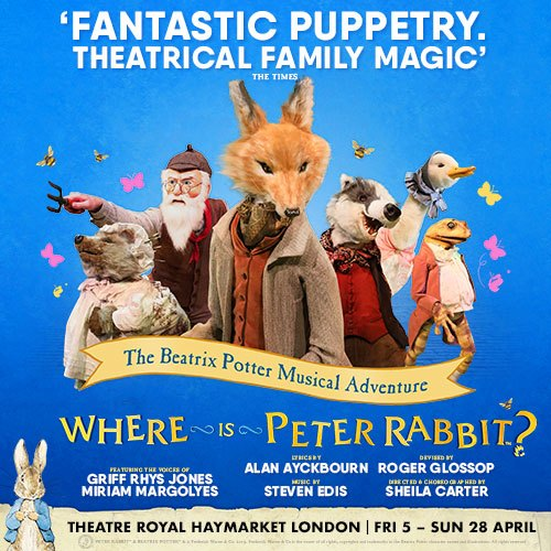 Where is Peter Rabbit? Show Cover